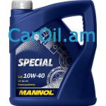 MANNOL Special 10W-40 4L, Կիսասինթետիկ