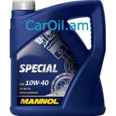 MANNOL Special 10W-40 5L, Կիսասինթետիկ