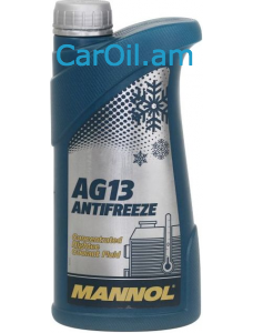 MANNOL Hightec Antifreeze AG13 1L Կանաչ