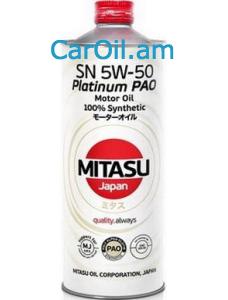 MITASU 5W-50 1L Լրիվ սինթետիկ