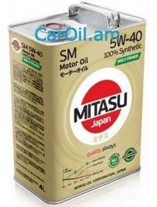 MITASU 5W-40 4L Լրիվ սինթետիկ