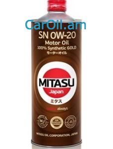 MITASU GOLD 0W-20 1L Լրիվ սինթետիկ