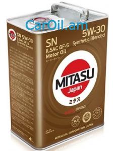 MITASU 5W-30 4L Կիսասինթետիկ
