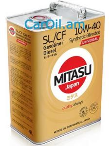MITASU UNIVERSAL SL/CF 10W-40 4L Կիսասինթետիկ