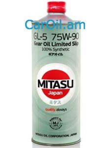 MITASU GEAR OIL GL-5 75W-90 1L Լրիվ սինթետիկ