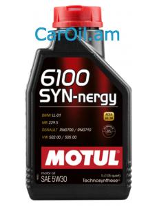 MOTUL 6100 SYN-NERGY 5W-30 1L Կիսասինթետիկ
