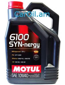 MOTUL 6100 SYN-NERGY 10W-40 5L Կիսասինթետիկ