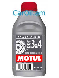 MOTUL DOT 3 & 4 BRAKE FLUID 0.5L Արգելակման հեղուկ