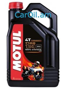 MOTUL 7100 4T 10W-40 4L Լրիվ սինթետիկ