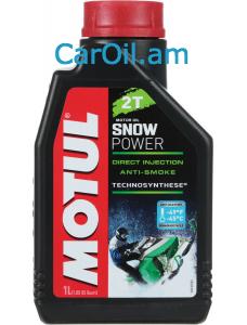 MOTUL SNOWPOWER 2T 1L Կիսասինթետիկ