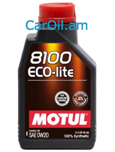 MOTUL 8100 Eco-lite 0W-20 1Լ Լրիվ սինթետիկ