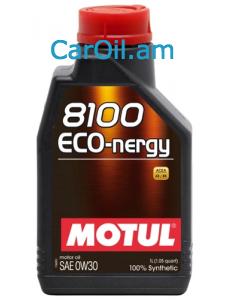 MOTUL 8100 Eco-nergy 0W-30 1Լ Լրիվ սինթետիկ