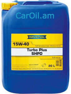 RAVENOL Turbo-Plus SHPD SAE 15W-40 20Լ Միներալ