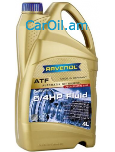 RAVENOL ATF 5/4 HP Fluid 4Լ Սինթետիկ