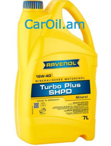 RAVENOL Turbo-Plus SHPD 15W-40 7Լ Միներալ