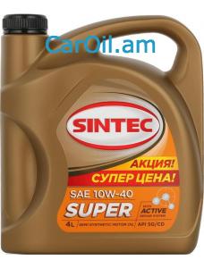 SINTEC 10W-40 4L, Կիսասինթետիկ