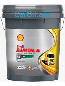 SHELL RIMULA R6 LM 10W-40 20L Դիզել սինթետիկ