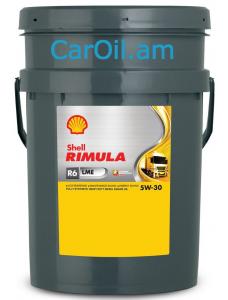 Shell Rimula R6 LME  5W-30 20L Սինթետիկ Դիզել