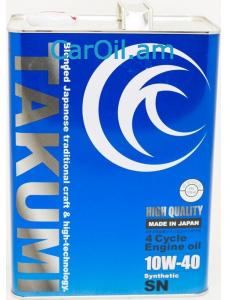TAKUMI HIGH QUALITY 10W-40 4L Սինթետիկ
