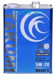 TAKUMI HIGH QUALITY 5W-20 4L Սինթետիկ