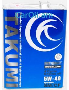 TAKUMI HIGH QUALITY 5W-40 4L Սինթետիկ