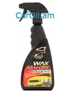 VALVOLINE WAX AS U DRY 532ml