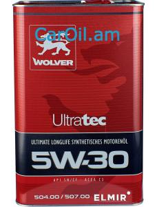 Wolver UltraTec 5W-30 4L սինթետիկ