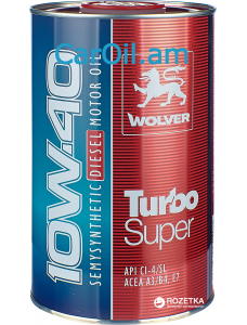Wolver Turbo Super 10W-40 1L