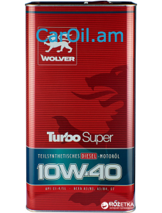 Wolver Turbo Super 10W-40 5L