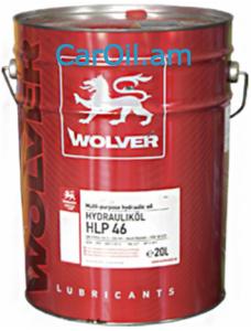 Wolver  Hydraulic Oil HLP 46 20L