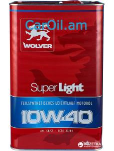 Wolver Super Light 10W-40 4L