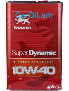 Wolver Super Dynamic 10W-40 4L