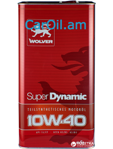 Wolver Super Dynamic 10W-40 5L