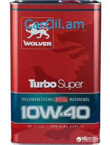 Wolver Turbo Super 10W-40 4L