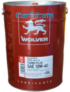 Wolver Turbo Super 10W-40 20L