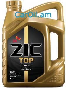 ZIC TOP 5W-30 4L Լրիվ սինթետիկ