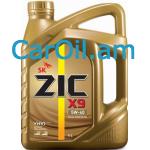 ZIC X9 5W-40 4L Լրիվ սինթետիկ